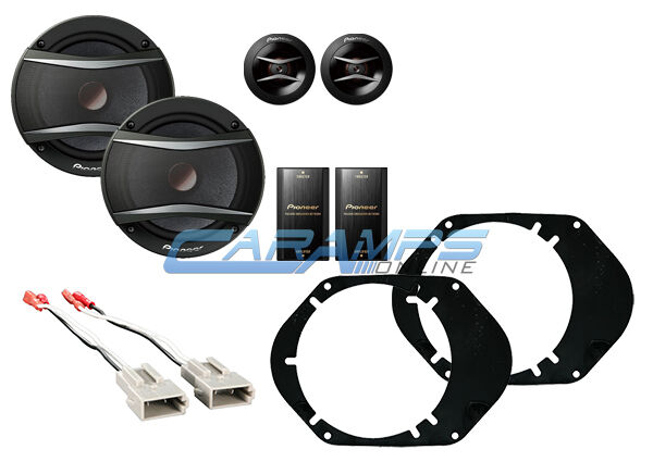 NEW PIONEER COMPONENT SET FOR FORD CAR/TRUCK FRONT OR REAR SPEAKERS W INSTALL