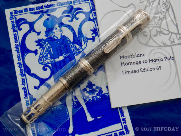 MONTBLANC ARTISAN EDITION HOMAGE TO MARCO POLO LE 69 THE SILK ROAD M SEALED 2016