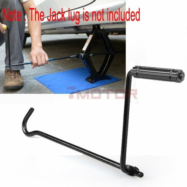 Car Garage Tire Wheel Lug Wrench Scissor Jack Crank Handle Lift Tool For Honda
