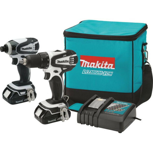 Makita 18v Lxt Li-Ion Drill Driver/impact Driver Combo Kit CT200RW Refurbished