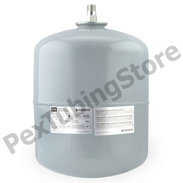 Calefactio #30 Boiler Expansion Tank 4.8 Gallon Volume Replaces Amtrol Extrol $38.95