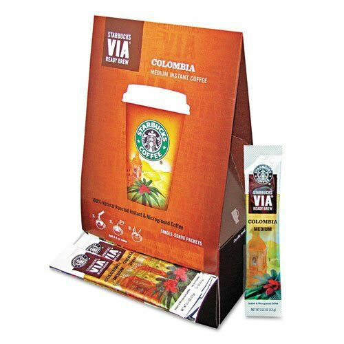 Starbucks Via Ready Brew Colombia Coffee Instant - 50  Box (sbk11008131)