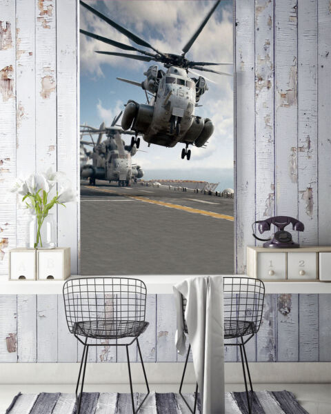 3D Flying  Helicopter 2434  Wall Paper Wall Print Decal Wall Deco AJ WALLPAPER