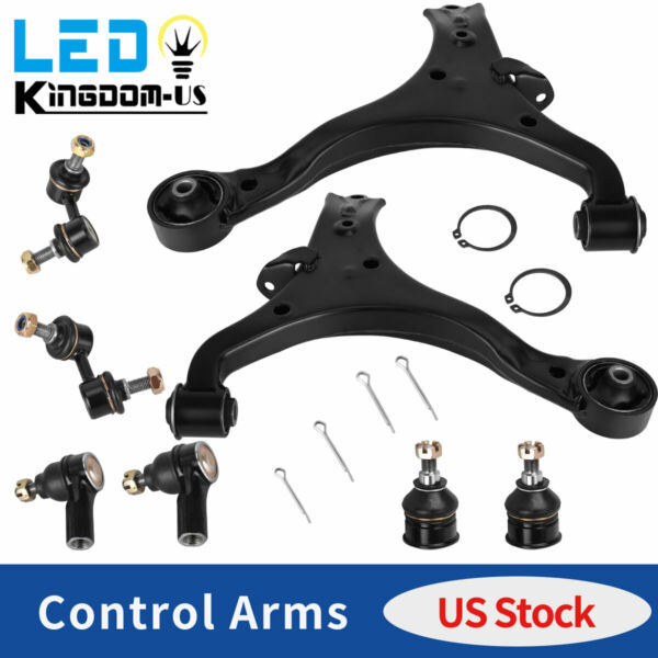 14PC Complete Front Control Arm Suspension Kit for 99-03 Chevy Blazer S10 4WD