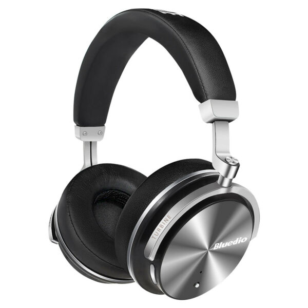 Bluedio T4S Noise Cancelling Wireless Bluetooth 4.2 Headphone Mic Headsets/Black