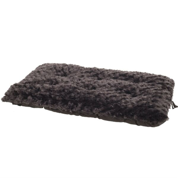 Lavish Cushion Pillow Furry Pet Dog Bed Chocolate Small 14 x 20 inches $10.99