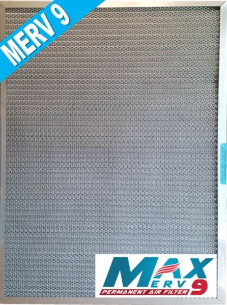 16x20x1 CERTIFIED MERV 9 Washable Permanent Electrostatic Furnace AC Filter