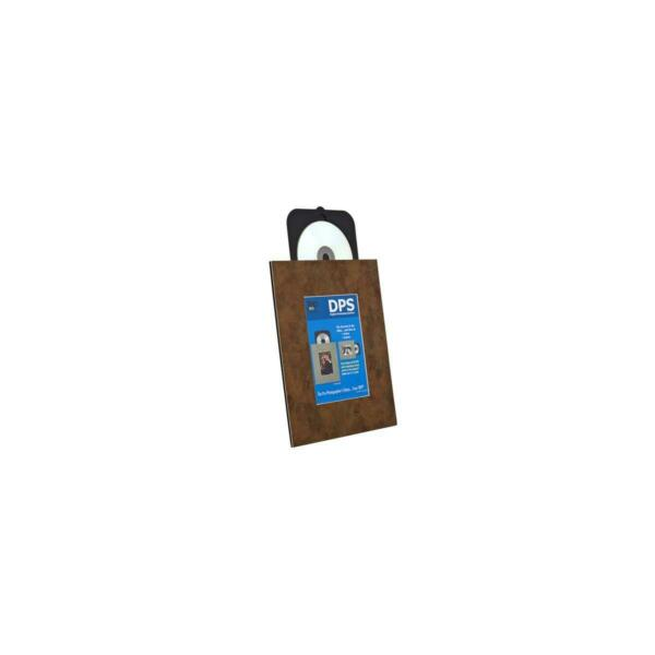 TAP 139707R01 DPS CD/DVD Easel for 5x7in Images, Brown