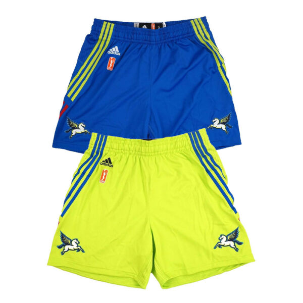Dallas Wings Adidas WNBA Team Issued Authentic On-Court Climacool Shorts Women's