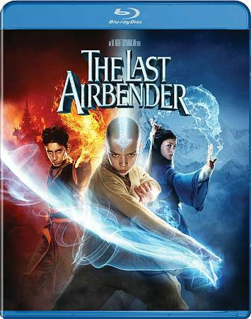 The Last Airbender Blu-ray Disc, 2010