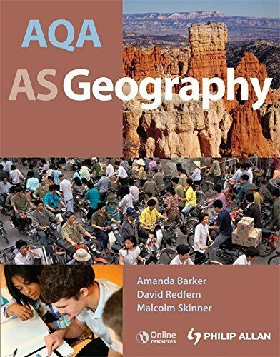 AQA AS Geography: Student's Guide by Barker Amanda Mixed media product Book The