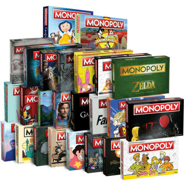 Monopoly: Game of Thrones, The Walking Dead or Rick and Morty or more