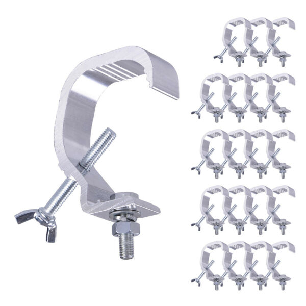 20pc 44lbs Small Stage Light Hook Aluminum Alloy Clamp Mount Par LED Moving Head
