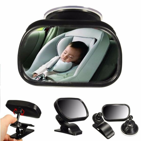 Car Baby Back Seat Rear View Mirror Fit for Infant Child Toddler Safety View