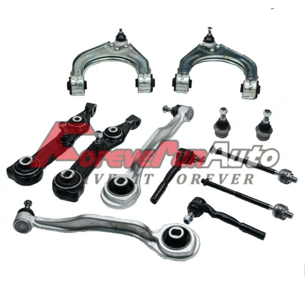 New Front Suspension Control Arms Tied Rods Ball Joints Kit for Mercedes Benz