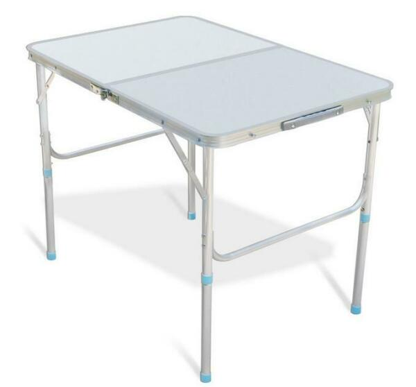 Folding Table 3#x27; Portable Plastic Indoor Outdoor BBQ Picnic Party Camp Tables