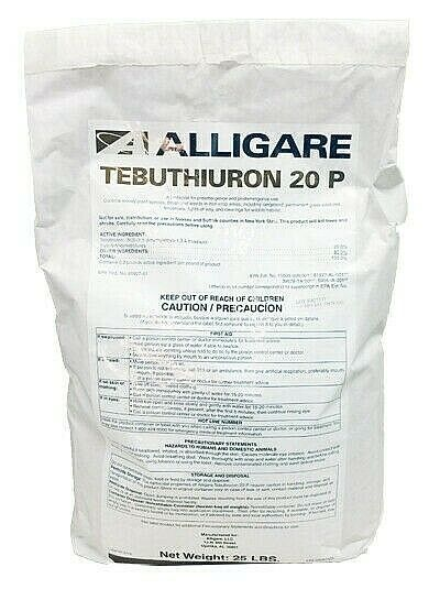 Tebuthiuron 20P Herbicide 25 Pounds Pellet Brush Killer Replaces Spike 20P $249.95