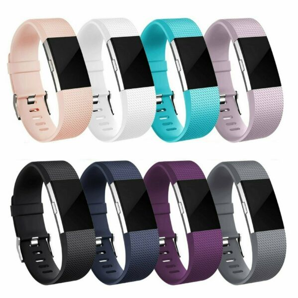 For OEM Fitbit Charge 2 2 HR Replacement Silicone Bracelet Watch Band $4.95