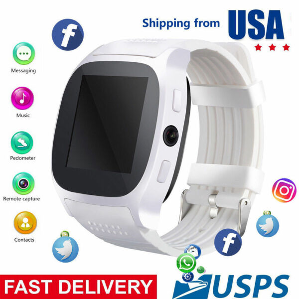 Bluetooth Smart Watch Phone Unlocked Smartwatches for Android Women Girls Gift