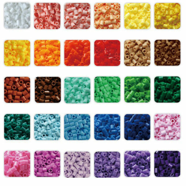 1000pcs/lot Hama Perler Beads DIY Craft Educational Kids Funny Toys Gifts 5mm