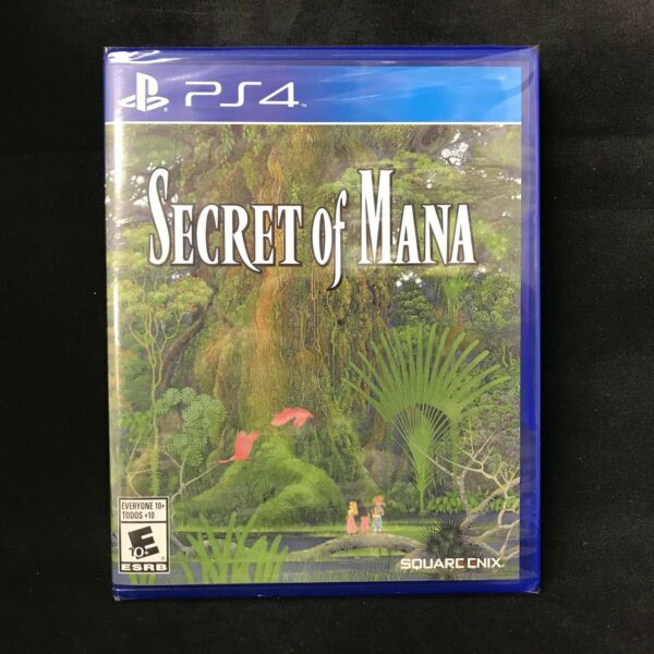 Secret of Mana (PlayStation 4) BRAND NEW / Region Free