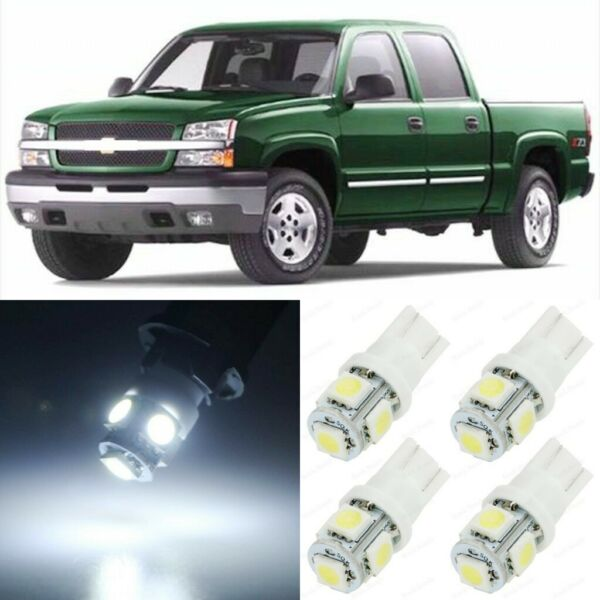 15 x White Interior Map LED Lights Package For 1999 - 2006 Chevy Silverado +TOOL