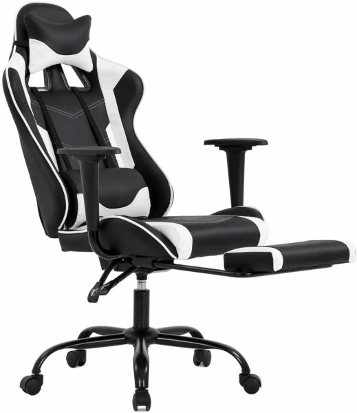 Office Chair Gaming Chair Recliner Racing High-back Swivel Task Desk Chair 468