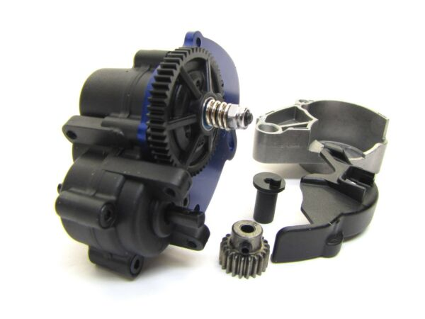 1 16 Summit TRANSMISSION SPUR GEAR amp; MOTOR MOUNT 50t Traxxas brushed 72054 5