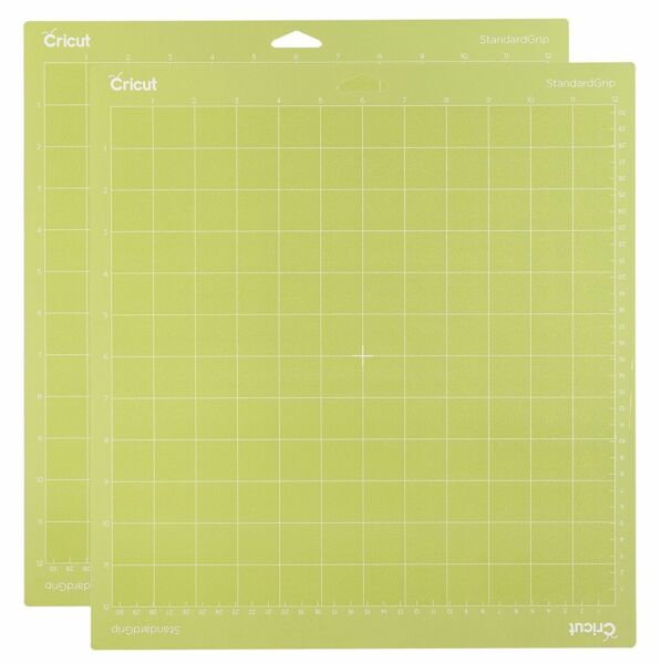 Cricut Tools Accessories Standard Grip Adhesive Cutting Mat 12 By 12 Set Of 2