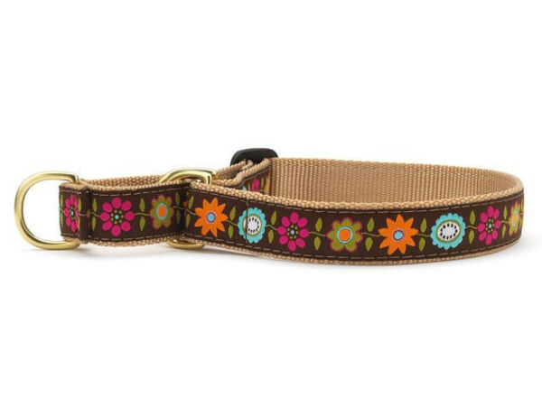 Dog Martingale Collar Up Country Made In USA Bella Floral S M L XL $23.00