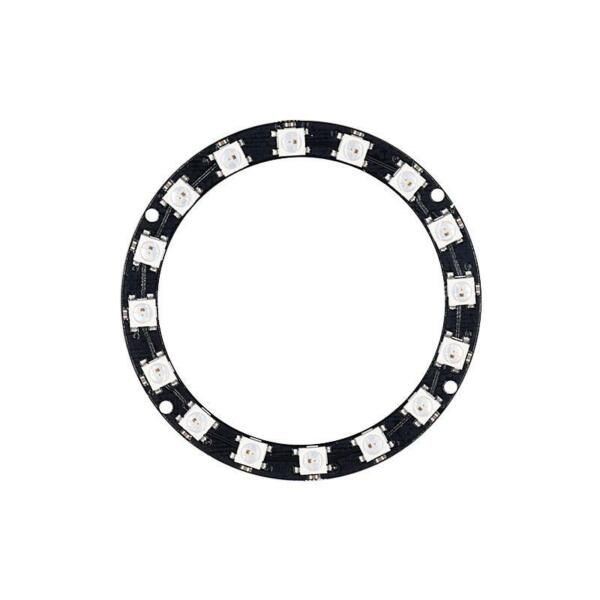 CJMCU-2812B-16 Pixel WS2812 5050 RGB LED Ring Strip Works with NeoPixel Library