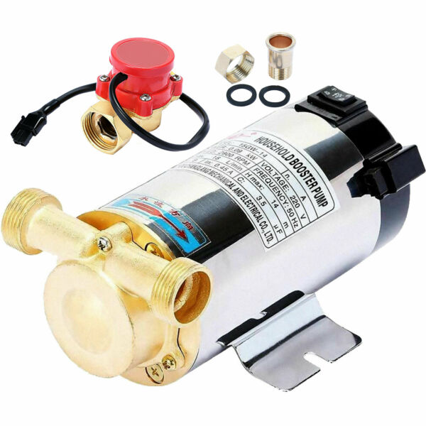 Automatic Booster Pump 90W Domestic Boost Water PressureStainless Steel