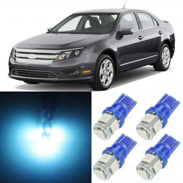 15 x ICE BLUE Interior LED Lights Package For 2006 - 2012 Ford Fusion +TOOL