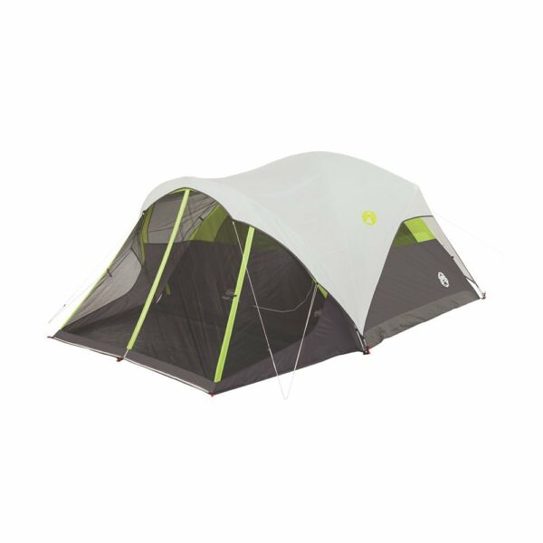 Coleman Steel Creek Fast Pitch 6-Person 90 Square Foot Dome Tent And Screen Room