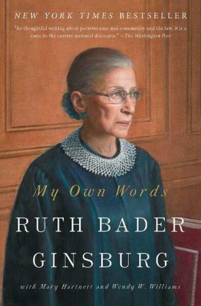 My Own Words by Ruth Bader Ginsburg English Paperback Book Free Shipping