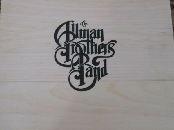Peach Crate [Wooden Box] * by Allman Brothers Band (Vinyl 15 LP's 2016) NEW