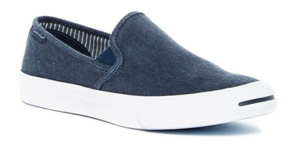 CONVERSE JACK PURCELL II SLIP ON SHOES SIZE MENS 13 NEW 153036C