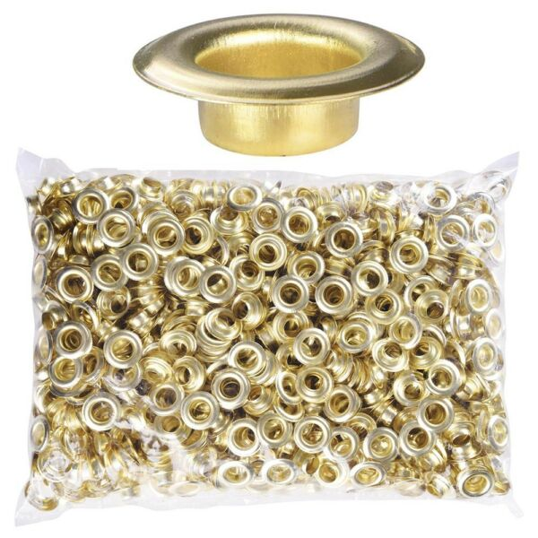 1000 #2 10mm Brass Eyelet Die Sign Press Tool for Semi-Automatic Grommet Machine $16.90