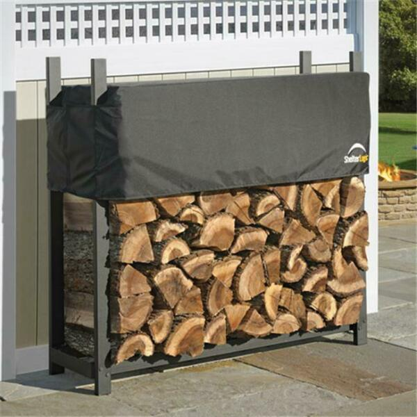 ShelterLogic 90474 4 ft. - 1 2 m Ultra Duty Firewood Rack with Cover