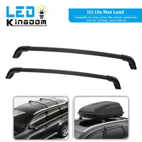 For 2014 2019 Toyota Highlander XLE amp; Limited Roof Racks Cross Bars Replacement $75.99