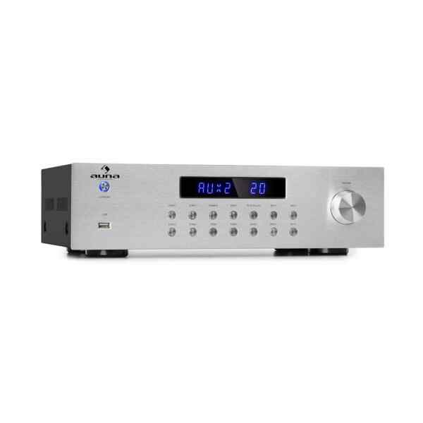Stereo HiFi Verstärker Bluetooth USB MP3 4 Zonen 8 x 50W RMS Amplifier