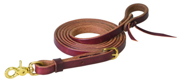 Weaver Leather Working Tack Heavy Harness Leather Roper Rein 50 1410 5 8quot; X 8#x27; $28.80