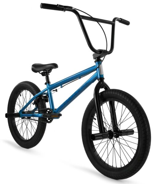 Elite 20quot; BMX Stealth Bicycle Freestyle Bike 1 Piece Crank Blue NEW 2020 $269.00
