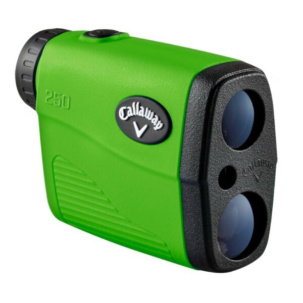 NEW Callaway 250 Golf Laser Rangefinder 6X Magnification PAT w Cases $250 Retail
