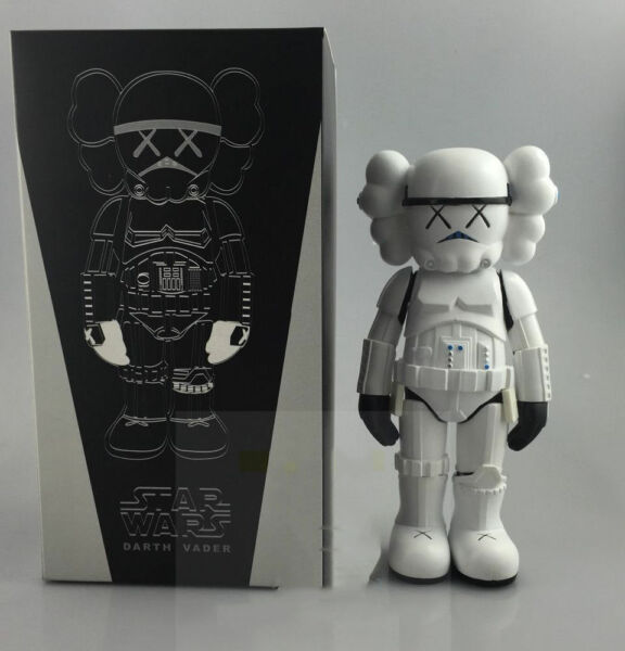 Kaws Stormtrooper 25cm Action Figure With Original Box Toy New Arrival
