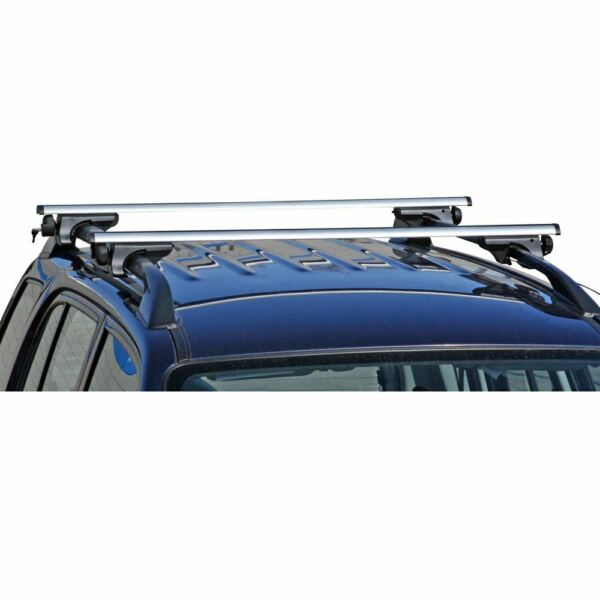 Apex Side Rail Mounted Aluminum Roof Cross Bars Universal up to 50quot; OPEN BOX $85.99