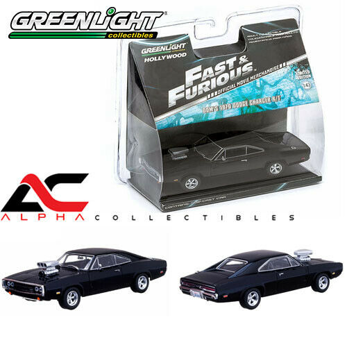 GREENLIGHT 86201CL 1:43 THE FAST AND THE FURIOUS (2001) 1970 DODGE CHARGER
