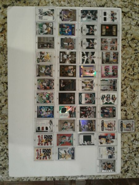 Sports Card Lot - NFL NBA MLB NHL - Autos Game-Used Inserts RCs Jerseys +