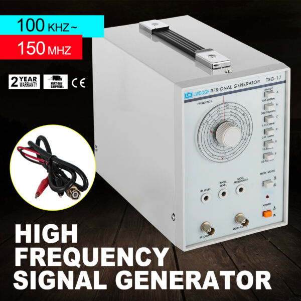 High Frequency Signal Generator RF 100KHz-150MHz AF Sine Wave 100Mvrms +-5%