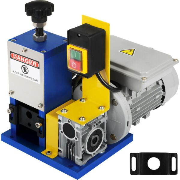 Electric Powered Wire Stripping Machine Automatic Cable Stripper Metal Recycle